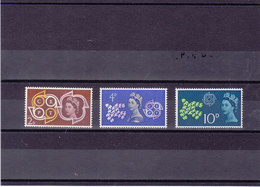 GB 1961 CEPT  Yvert 362-364 NEUF** MNH - 1952-.... (Elizabeth II)
