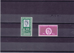 GB 1961 COMMONWEALTH Yvert 365-366 NEUF** MNH - 1952-.... (Elizabeth II)