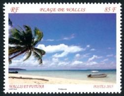 WALLIS ET FUTUNA 2015 - Yv. 834 **    - Plage De Wallis  ..Réf.W&F22311 - Unused Stamps