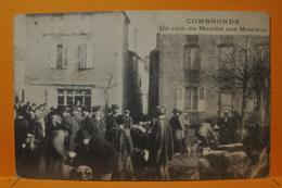 Combronde - Un Coin Du Marché Aux Moutons - Combronde