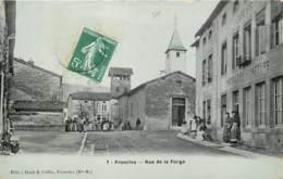 52 - FRONCLES - Rue De La Forge En 1909 - Animée - Francia