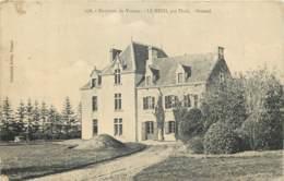 56 - LE HEZO Par Theix - Chateau Brionel En 1907 - France