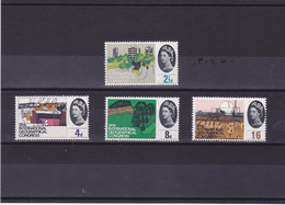 GB 1964 GEOGRAPHIE Yvert 387-390 NEUF** MNH - 1952-.... (Elizabeth II)