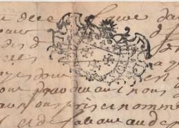 Généralité Moulins N° 105 ? /  1720  / Parchemin ? - Cachets Généralité