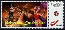 Belgie Belgien 2018 - Priveclub De Molen - OBP 4182 - Private Stamps