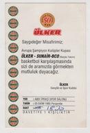EUROPEAN CHAMPIONSHIP CUP ULKER -SUNAIR-BCO TICKET - Sports