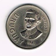 &  URUGUAY  10  NUEVO  PESOS  1981 - Uruguay