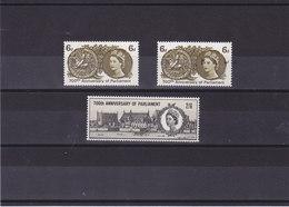 GB 1965 PARLEMENT Yvert 399-400 + 399A NEUF** MNH - 1952-.... (Elizabeth II)