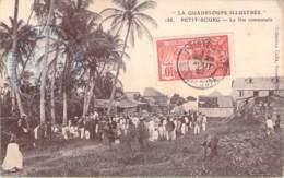 971 - Guadeloupe - Le Petit-Bourg - La Fête Communale, La Guadeloupe Illustrée (acrobate Funambule) (tampon Gendarmerie) - Otros