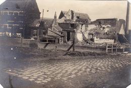 Photo Avril 1915 LES ECLUSES (Deûlémont) Près QUESNOY-SUR-DEULE - Bâtiment Détruit, Ruines (A201, Ww1, Wk 1) - France