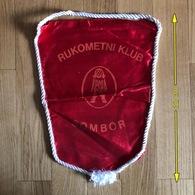 Flag (Pennant / Banderín) ZA000477 - Handball Serbia Sombor - Handball