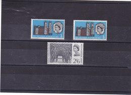 GB 1966 WESTMINSTER Yvert 435-436 + 435A NEUF** MNH - 1952-.... (Elizabeth II)