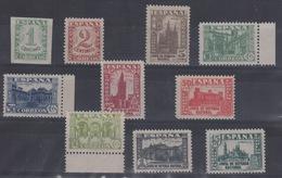 1936 - 1937 Junta Defensa Nacional Edifil 802/11** MNH Serie Corta VC 89€ - 1931-50 Nuevos & Fijasellos