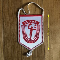 Flag (Pennant / Banderín) ZA000480 - Handball Croatia Ilova Grubisno Polje - Handball