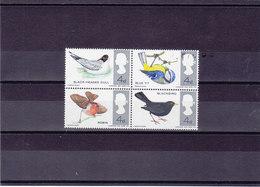 GB 1966 OISEAUX Yvert 444-447 Bloc De 4 NEUF** MNH - 1952-.... (Elizabeth II)