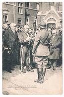 CPA :  NAMUR Après Guerre 14/18 - Discours Du Bourgmestre Arthur Procès  Au Général Flébus Et Colonels Laurent Et Hublet - Namur
