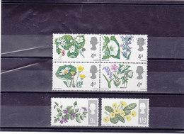 GB 1967 FLEURS Yvert 465-470 NEUF** MNH - 1952-.... (Elizabeth II)