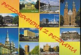 POLONIA - POZNAN - ALCUNE VEDUTE - NUOVA - Polonia