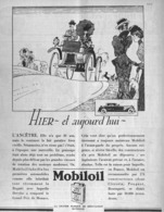 "PUB HUILE  "" MOBILOIL ""  1930 ( 2 ) - Other"
