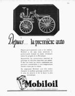 "PUB HUILE  "" MOBILOIL ""  1930 ( 3 ) - Other"