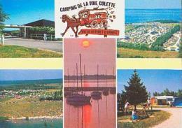 Aube        H20       Mesnil Saint Pere.Camping De La Voie Colette ( 5 Vues ) - France