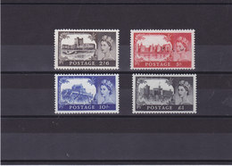 GB 1968 CHÄTEAUX Yvert 502-505 NEUF** MNH Cote : 25 Euros - 1952-.... (Elizabeth II)
