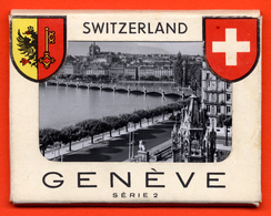 B-757 GENEVA Switzerland 1950s. Lot Of 10 Small Photos - Collection. - GE Geneva