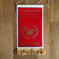 Flag (Pennant / Banderín) ZA000488 - Firemen Croatia DVD Belje Secerana Beli Manastir - Pompiers