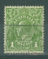 Australia: 1931/36   KGV    SG125   1d   Green  Used - 1913-36 George V: Heads