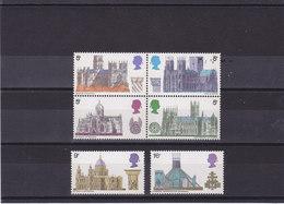 GB 1969 CATHEDRALES  Yvert 563-568 Se Tenant NEUF** MNH - 1952-.... (Elizabeth II)