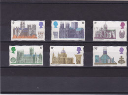 GB 1969 CATHEDRALES  Yvert 563-568 NEUF** MNH - 1952-.... (Elizabeth II)