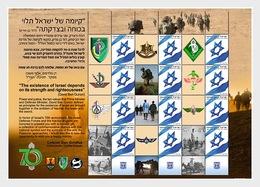 Israel - Postfris / MNH - Sheet The Nachal Division 2018 - Israël