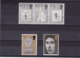GB 1969 PRINCE DE GALLES Yvert 569-573 NEUF** MNH - 1952-.... (Elizabeth II)