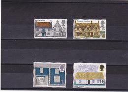 GB 1970 ARCHITECTURE RURALE  Yvert 582-585 NEUF** MNH - 1952-.... (Elizabeth II)
