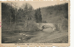 Daverdisse La Lesse Et Le Pont Des Barbouillons  Edit Constant Detroz Photo Dessart 2 Timbres - Daverdisse