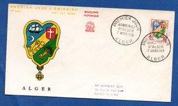 Enveloppe Premier Jour / N 282 / Alger  / 7-3-59 - Algérie (1924-1962)