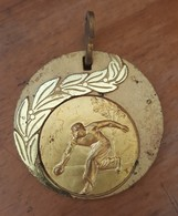 Old Medal For 1. Place Bowling Cetvorke Bocanje BD Drenova Rijeka Fiume - Bowling