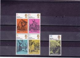 GB 1970 DICKENS Yvert 591-595 NEUF** MNH - 1952-.... (Elizabeth II)