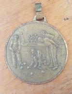 Old Medal For 2. Place Bowling Cetvorke Bocanje BD Drenova #2 Rijeka Fiume - Bowling