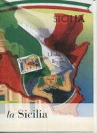 2008 Italia, Folder Regioni D'Italia Sicilia, Al Prezzo Di Copertina - 6. 1946-.. Repubblica