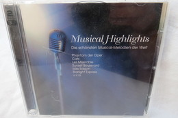 """2 CDs """"Musical Highlights"""" Die Schönsten Musical-Melodien Der Welt - Instrumental"""