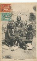 Maximum Card . Huila . Adolescentes . Nude Young Girls . P. Used 1924 To Paris . Edit Carvallo Loanda 697 - Angola
