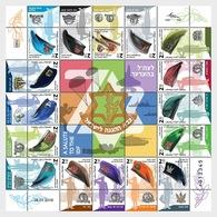 Israel - Postfris / MNH - Sheet Legerbaretten 2018 - Israël