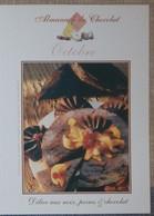Petit Calendrier De Poche 2005 Almanach Du Chocolat Mois D'octobre - Délice Aux Noix Poires Et Chocolat - Kleinformat : 2001-...