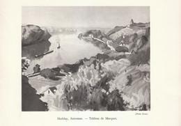 1935 - Héliogravure - Herblay (Val-d'Oise) - Tableau De Marquet - FRANCO DE PORT - Vieux Papiers