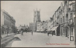 The Market Place, Cirencester, Gloucestershire, C.1910s - W Denis Moss Postcard - Other