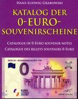 Erstauflage Katalog 0-EURO-Souvenirscheine 2018 Neu 20€ Für Papiergeld Souvenir-Note Battenberg Deutsch/english/frz - Französisch