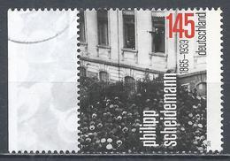 Germany 2015. Scott #2855 (U) Philipp Scheidemann (1865-1939), Chancellor * - [7] République Fédérale