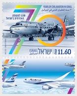 Israel - Postfris / MNH - 70 Jaar Luchtvaart 2018 - Israël