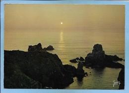 Cléden-Cap-Sizun (29) Coucher De Soleil Sur La Pointe Du Van 2 Scans - Cléden-Cap-Sizun